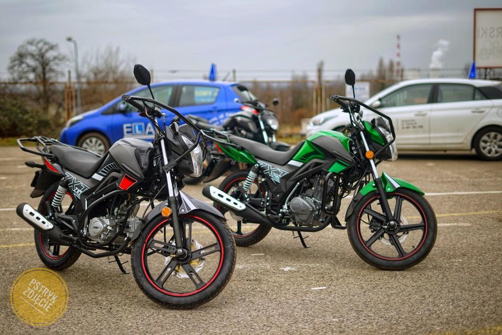 Kategoria A1 - motocykl