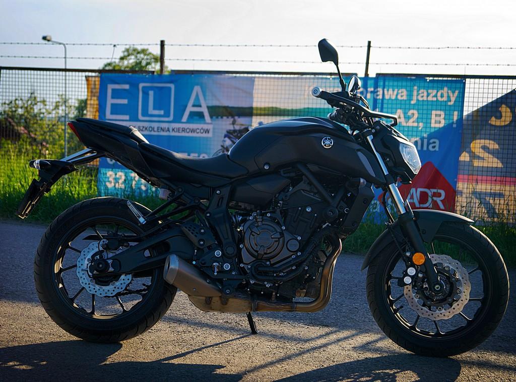 Yamaha MT06 A2
